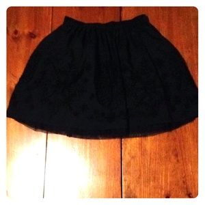 Lands end kids skirt
